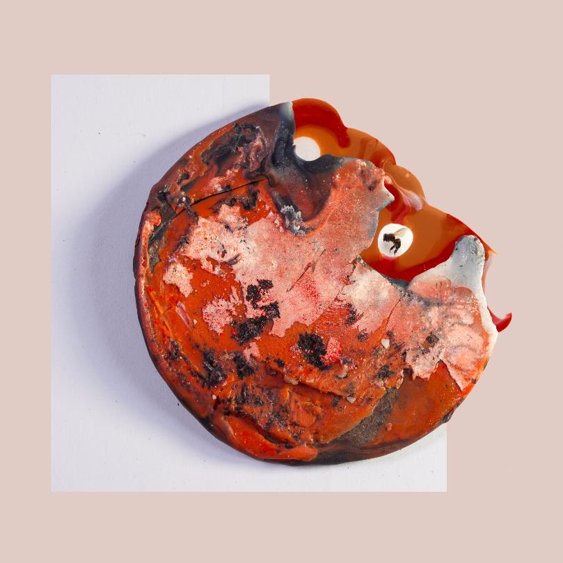 "Acrylic Flesh IV, 2014, Photographic collage, 20"" x 20"", 7/7"
