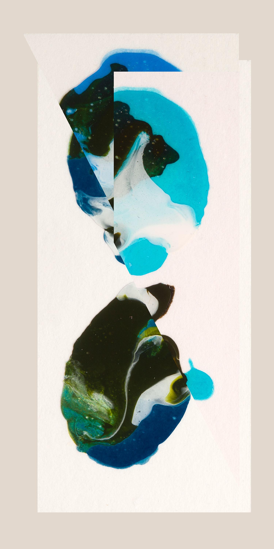 "God Particle VI, 2014, Photographic collage, 10"" x 20"", 7/7"
