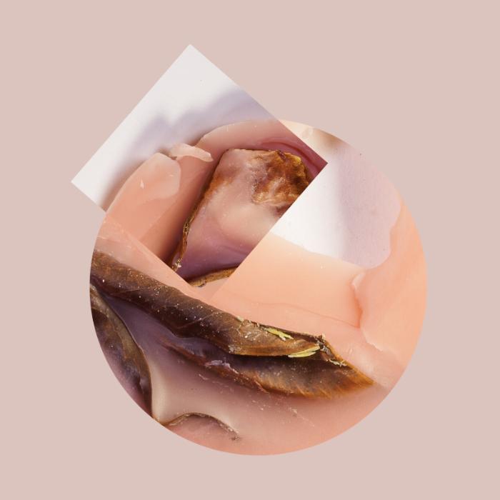 """Acrylic Flesh I, 2014, Photographic collage, 20"""" x 20"""", 7/7"""
