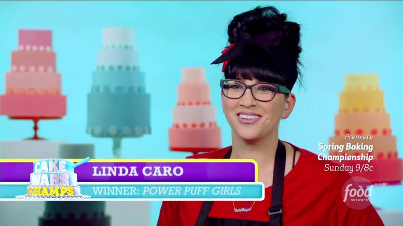 Linda Caro, Cake Wars Champion