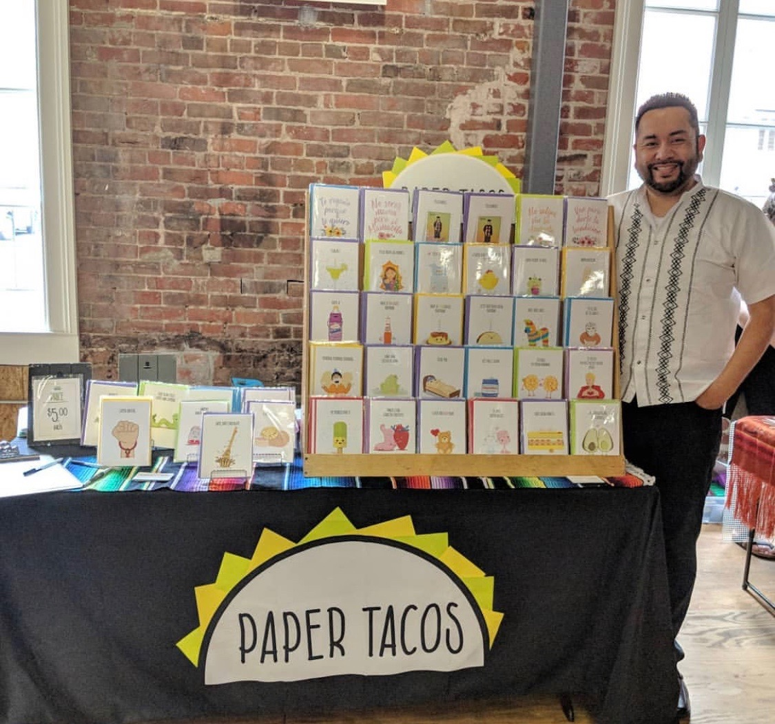 Jesús Ruvalcaba,  Paper Tacos  Founder and his witty cards!