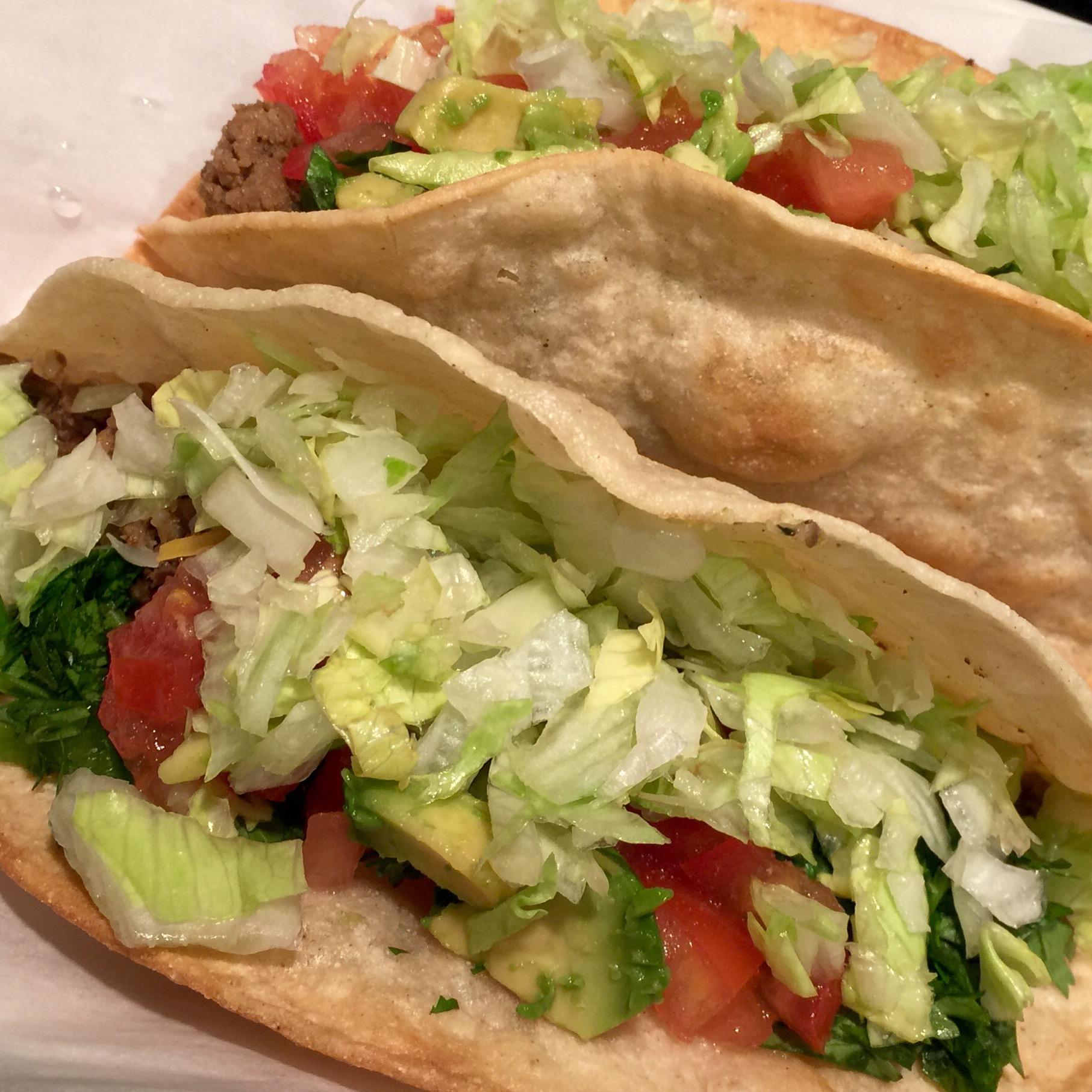 Crunchy tacos make me smile