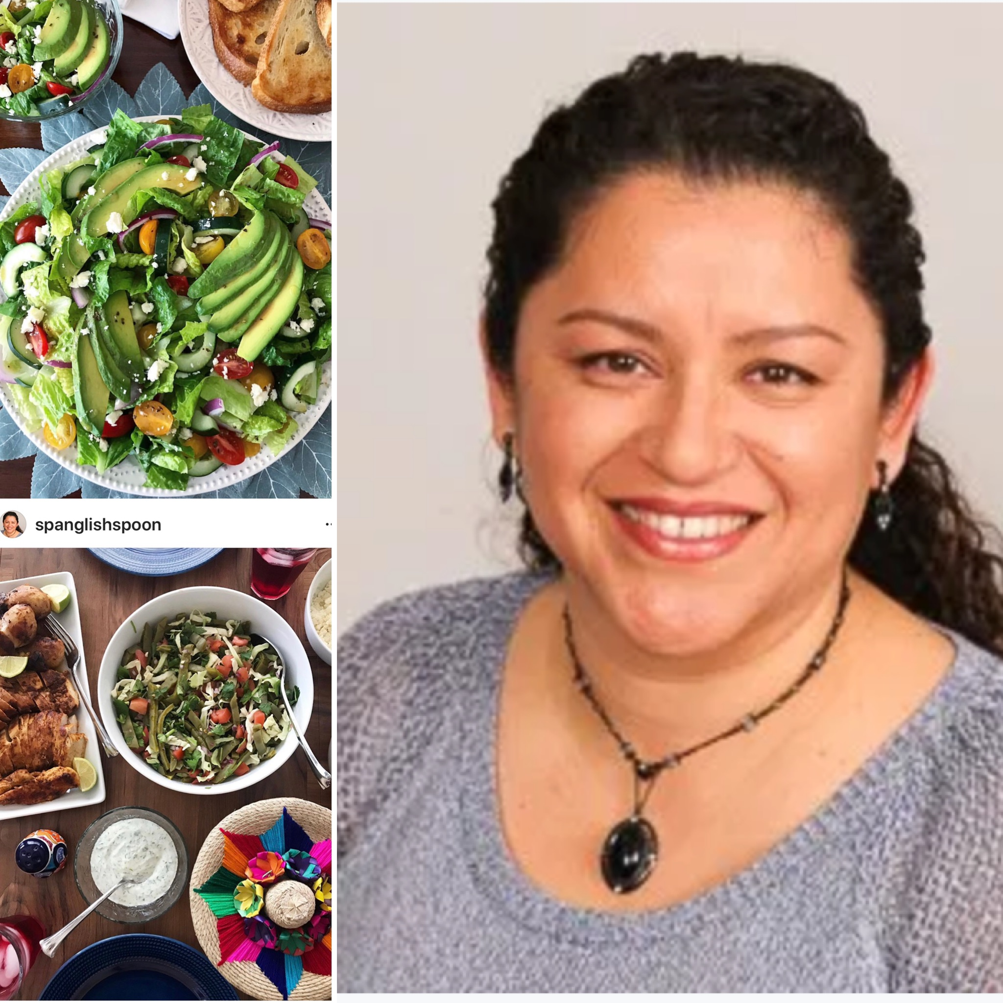 Visit  Spanglish Spoon's website  and  instagram  for her delicious, healthy recipes!