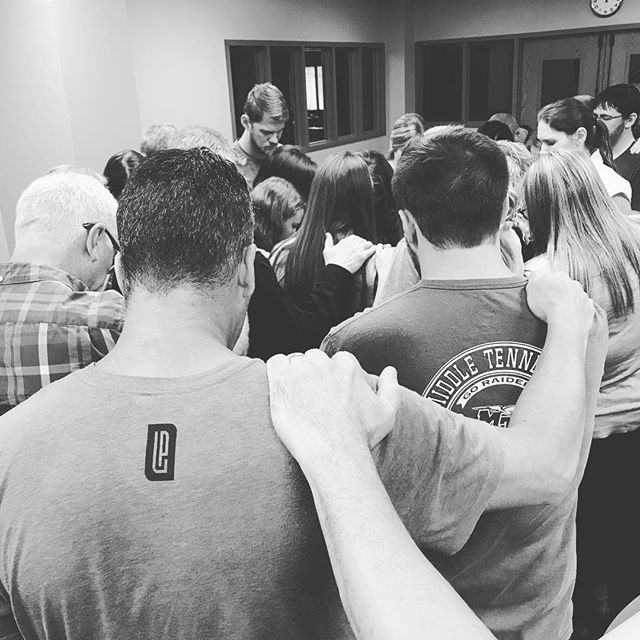I am thankful to serve alongside of a church who hungers for the Spirit of God to move, they desire to be more like Jesus, and they long for the Father's will to be done more than their own. Today was a day of breakthrough. Today was a day I will never forget.