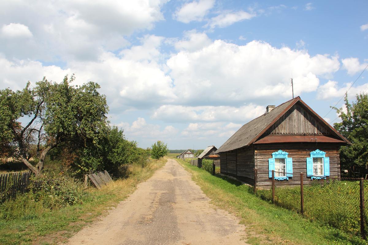 Villaggio vicino a Staryje Doroghi