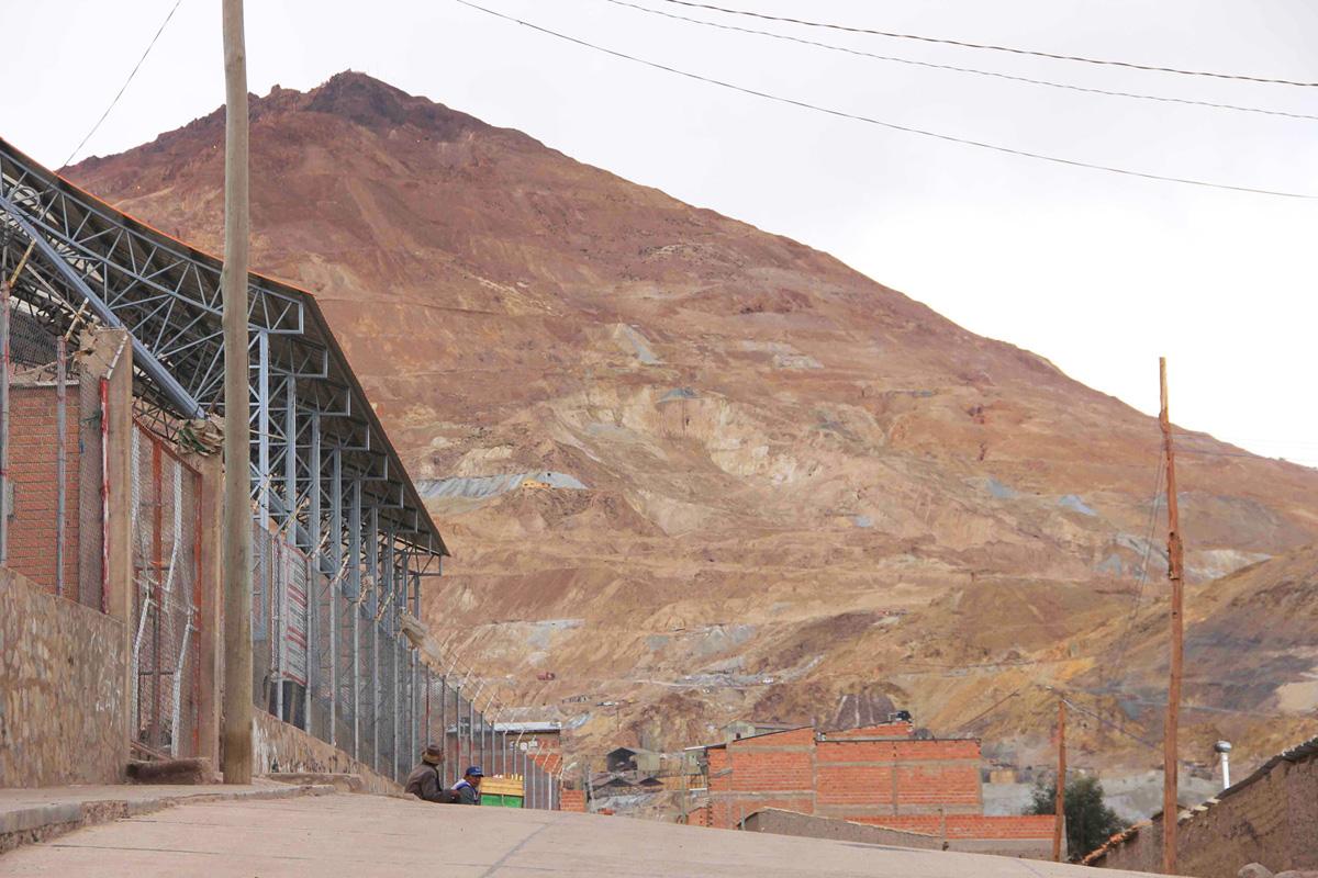Potosì, il Cerro Rico
