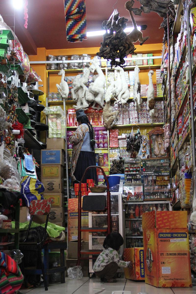 La Paz, mercato della stregoneria