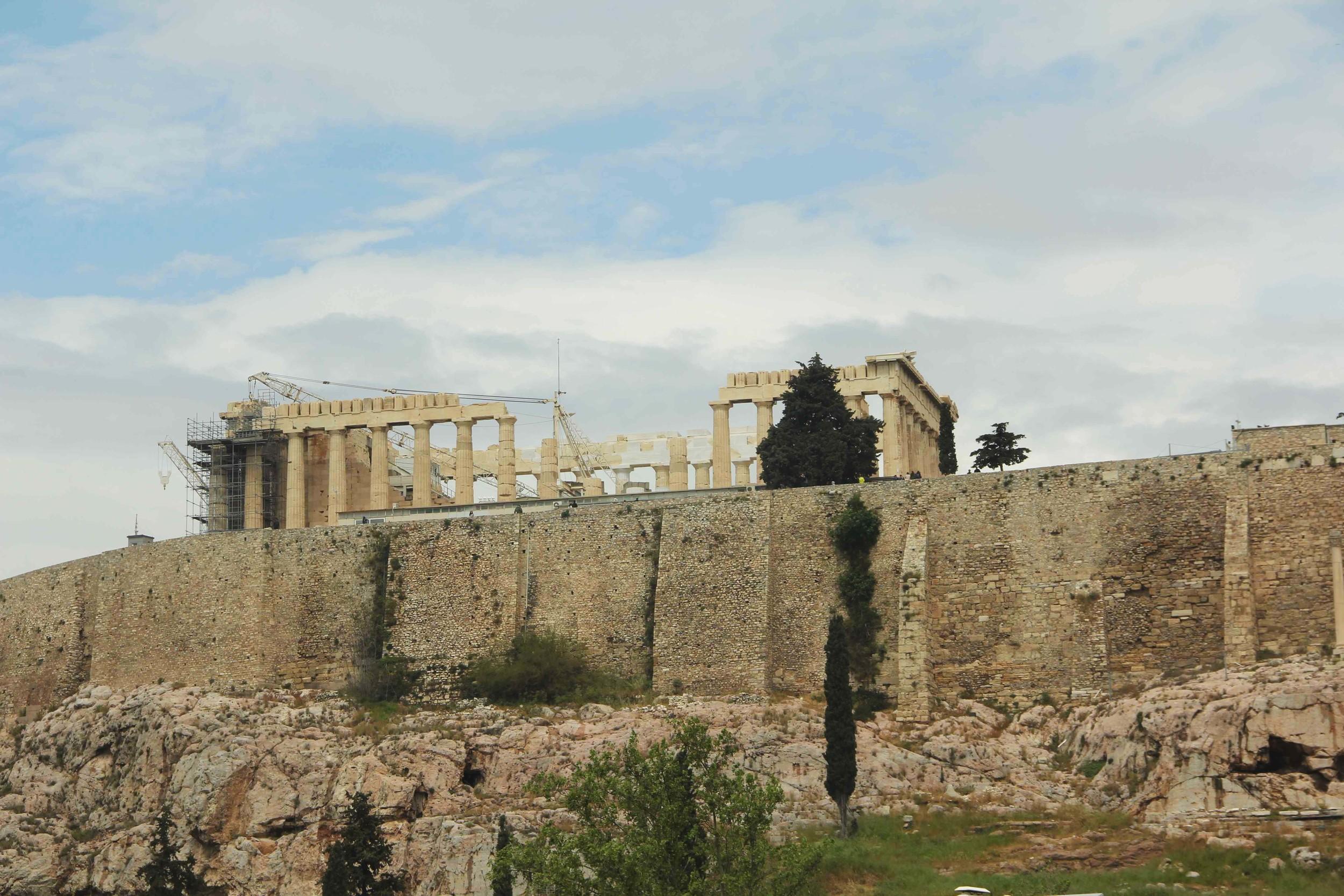 Atene, l'Acropoli e il Partenone