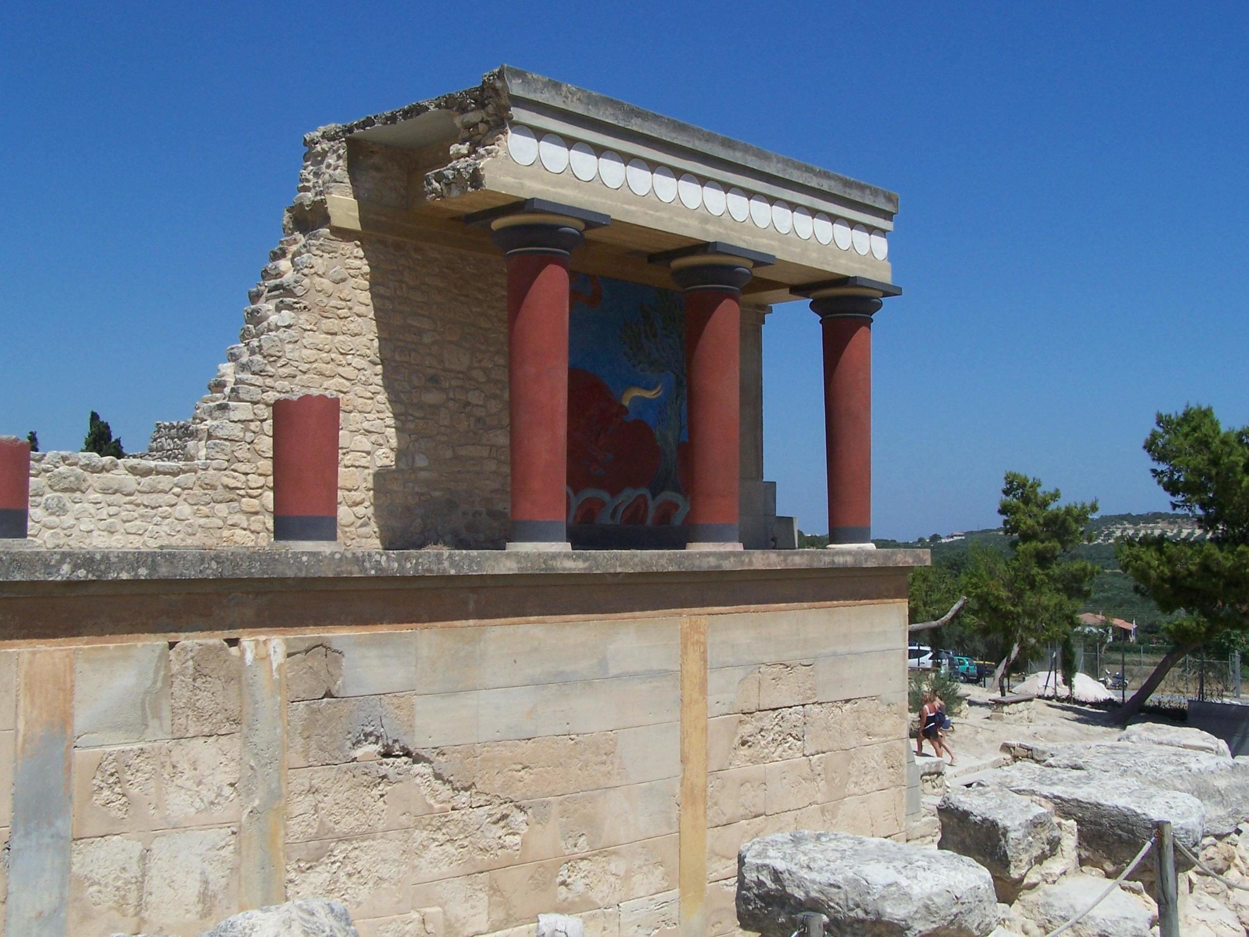 Creta, Il palazzo di Cnosso