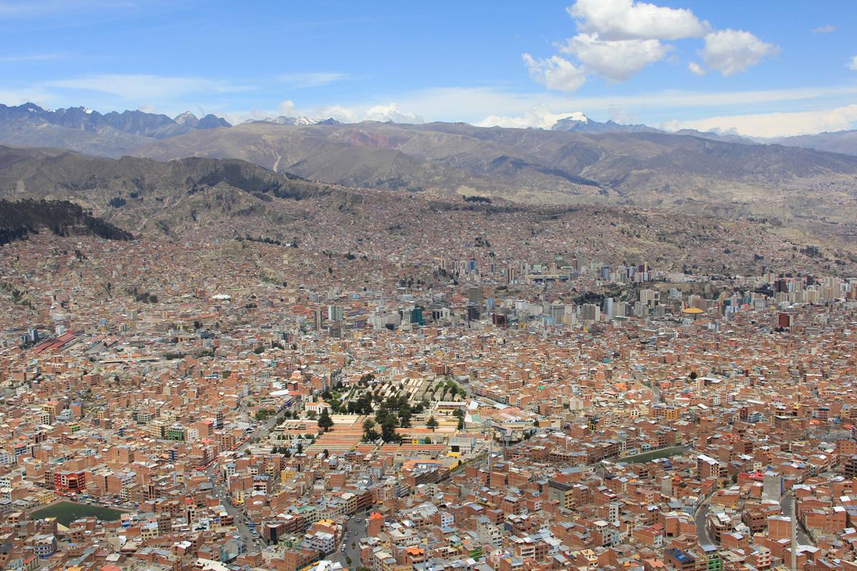 La Paz, 3650 metri.