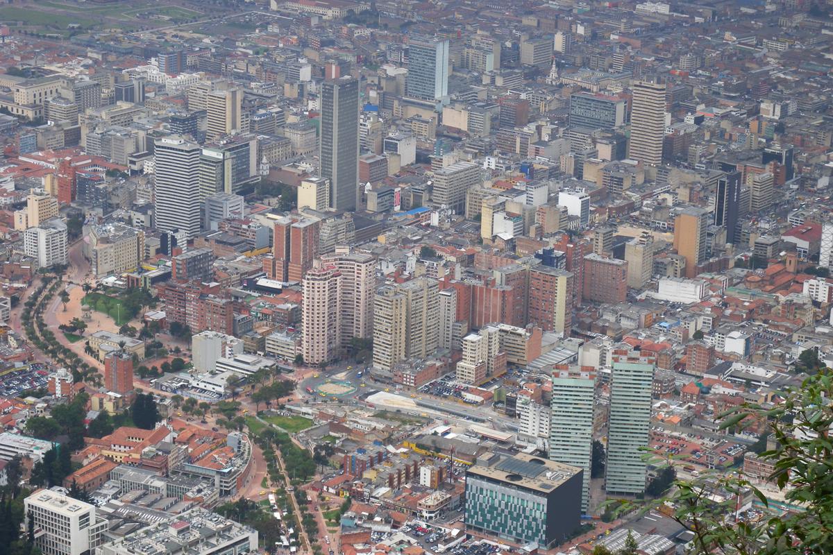 Bogotà, 2640 metri