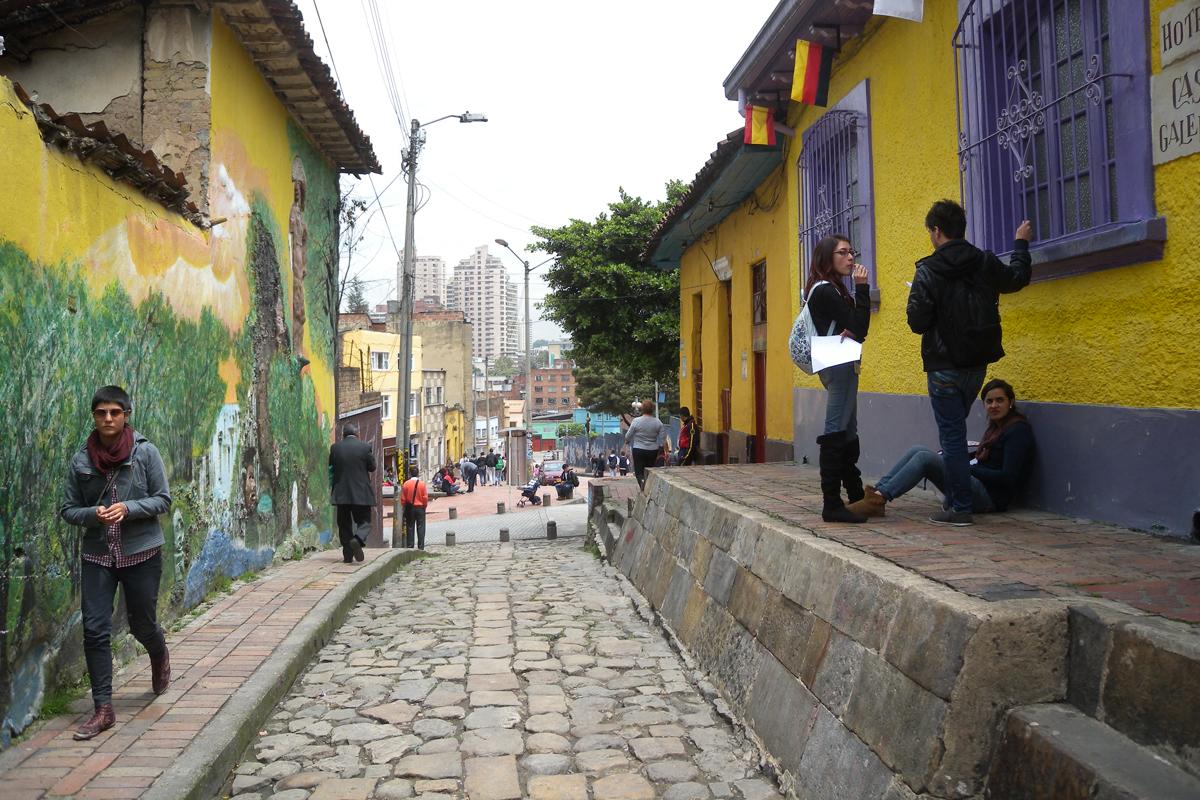 Bogotà, la Candelaria