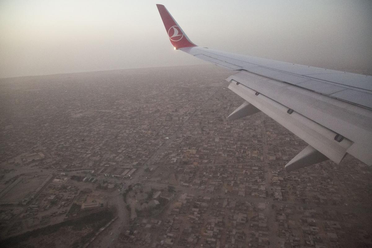 Nuackhott, la capitale della Mauritania.