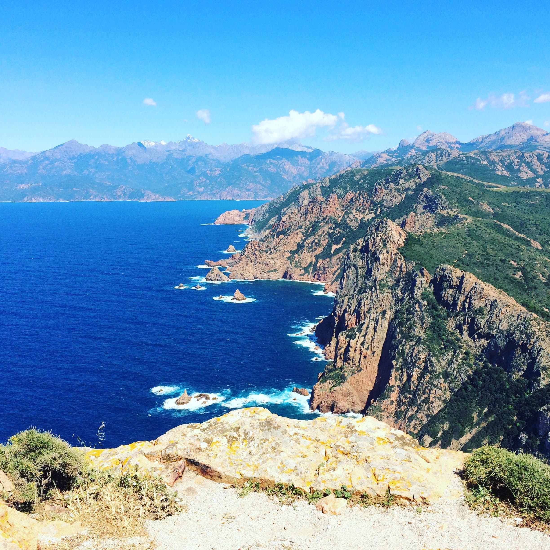 Corsica, Capo Rosso
