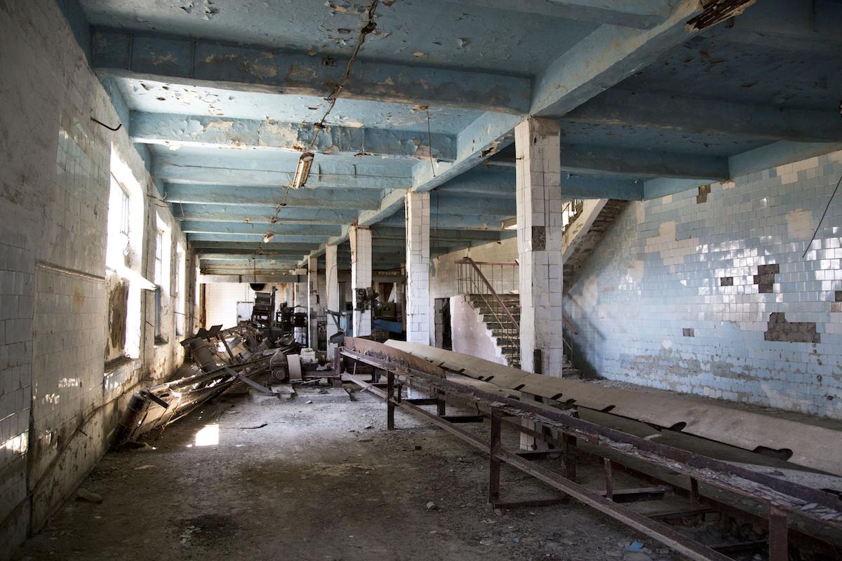 La Moynaq fish cannery, l'ex fabbrica di conserve