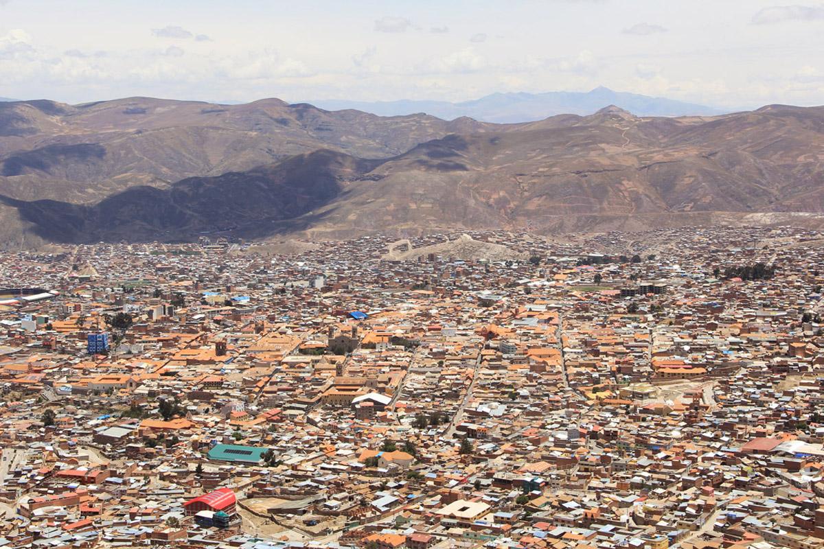 Potosì, vista dal Cerro Rico