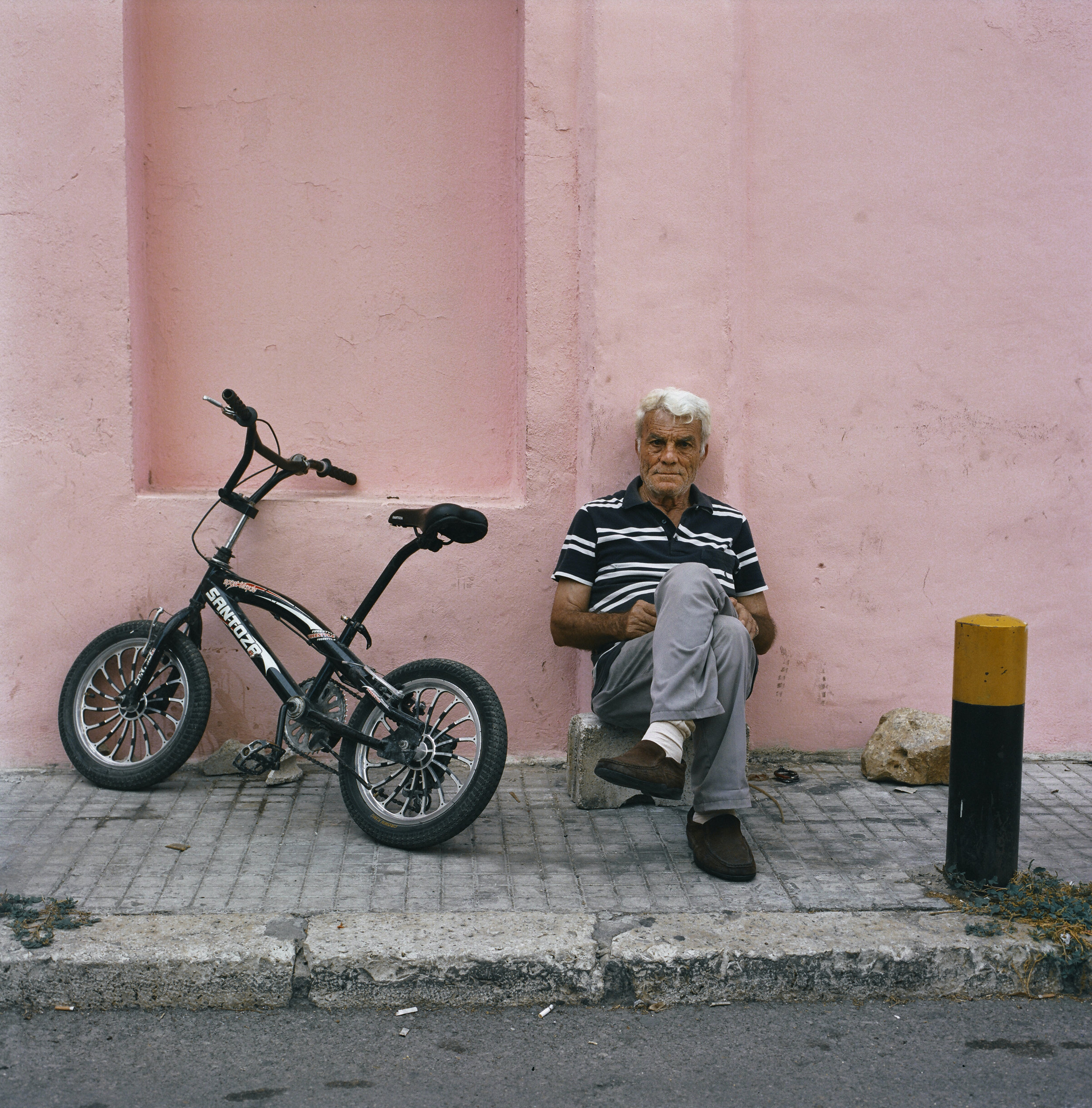 pink wall/lebanon