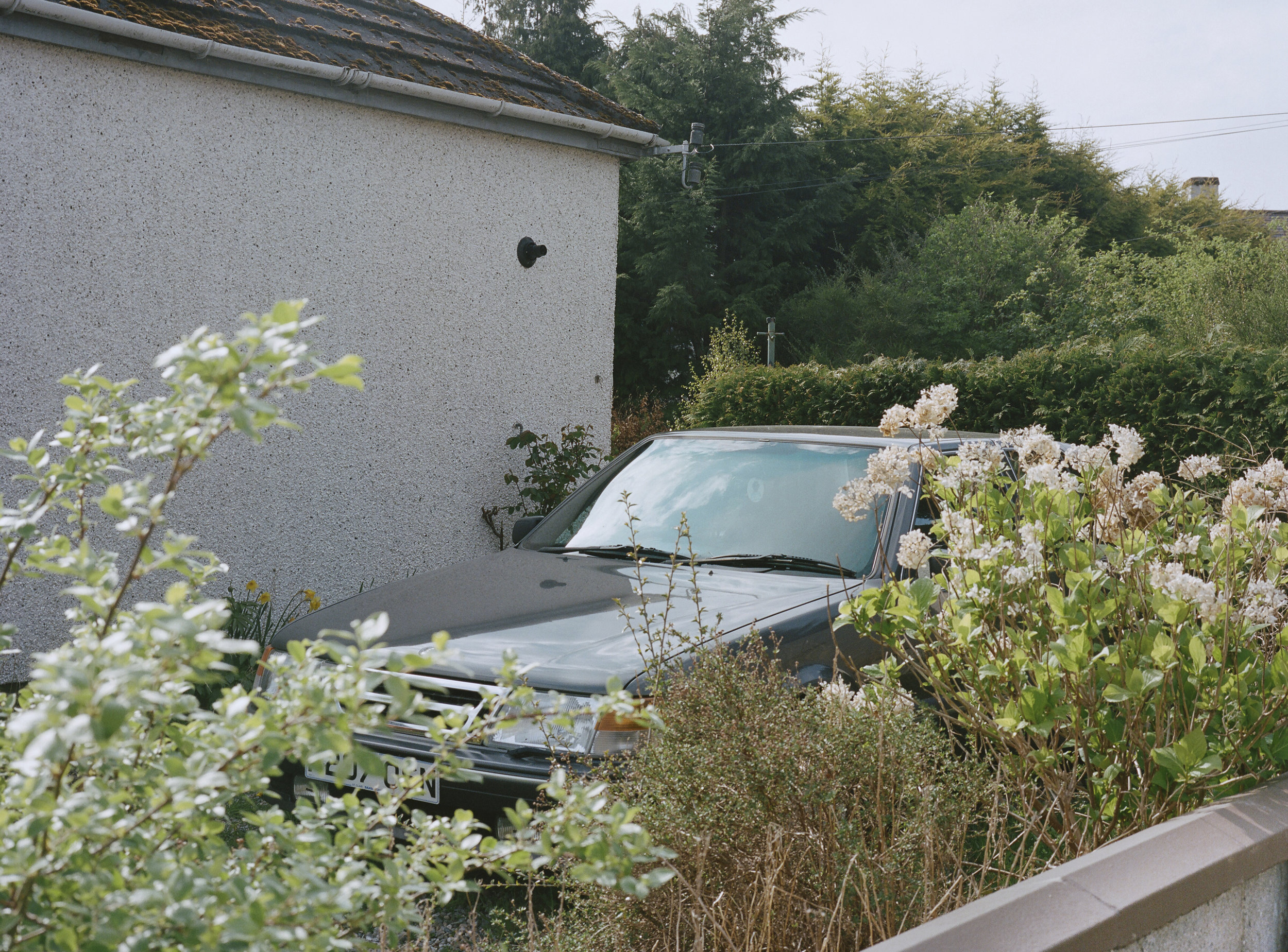 parked car/scotland