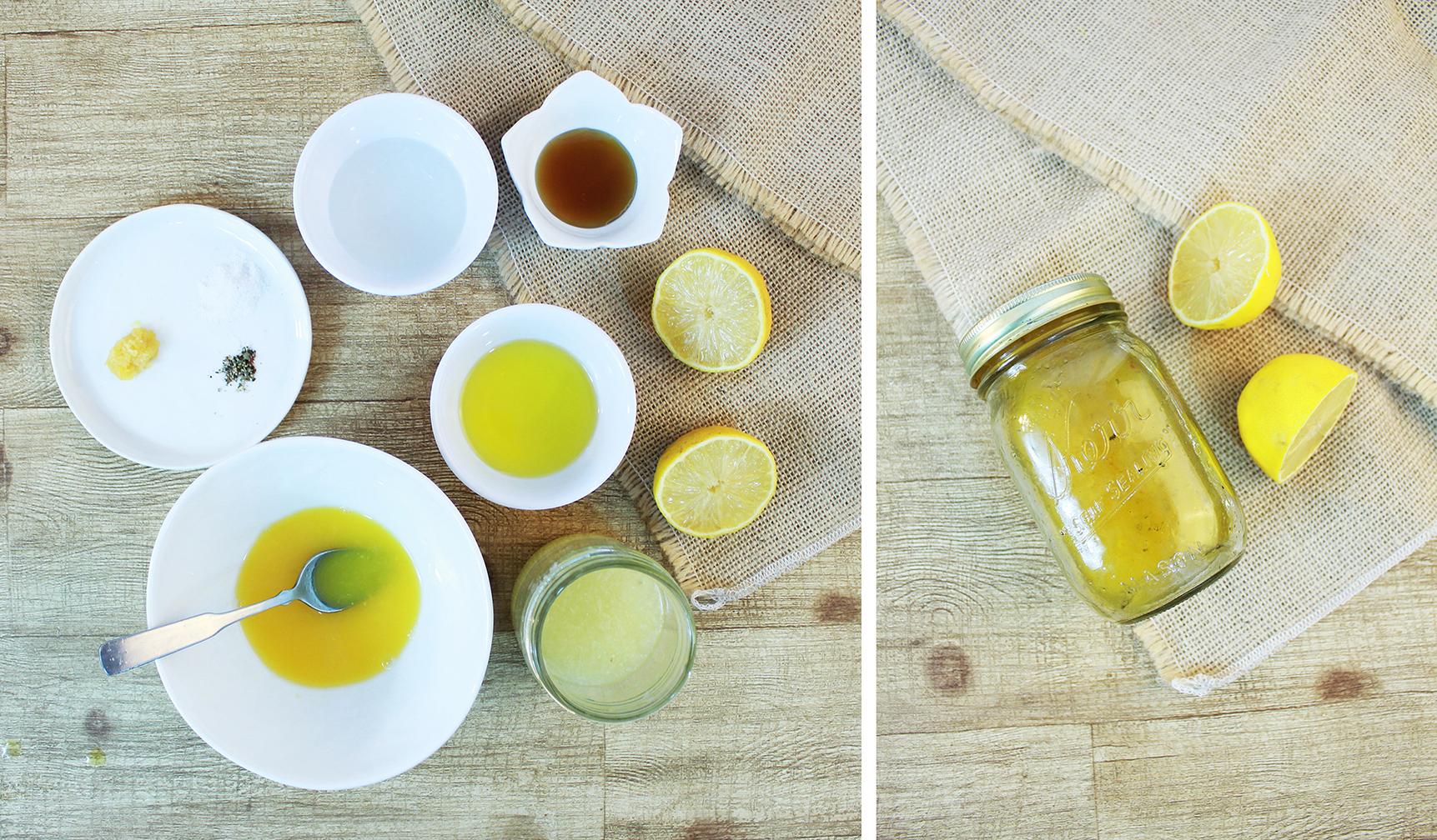 Orange Citrus Vinaigrette Ingredients