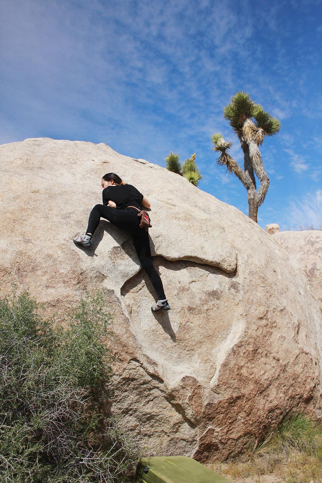 A fun warmup climb!
