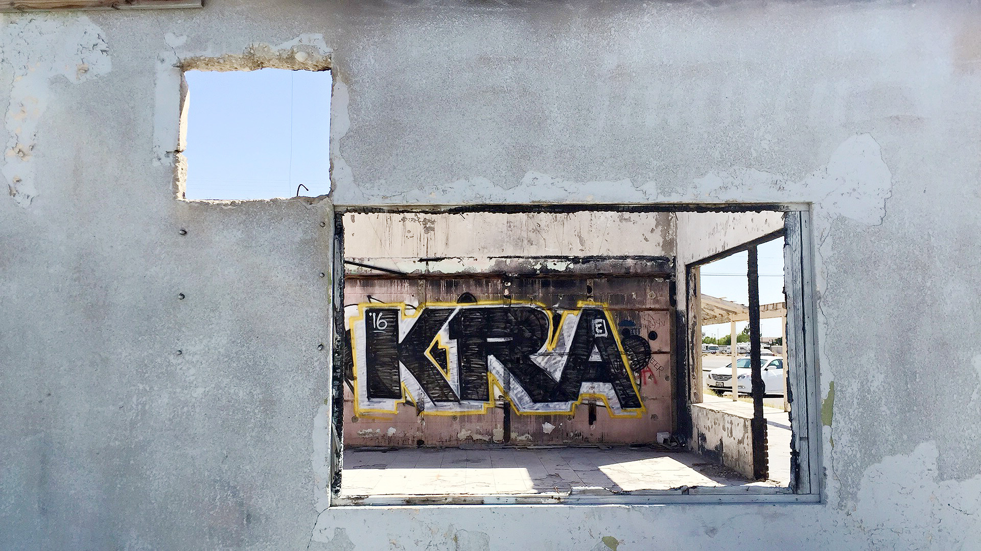 Abandoned buildings in Niland, CA