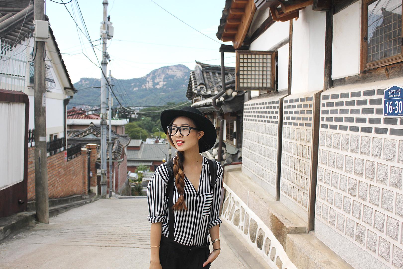 Wandering Bukchon Hanok Village