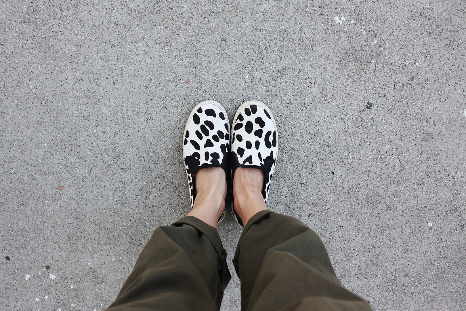Calf Hair sandals from J.Crew