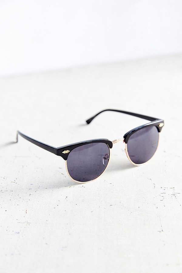 Skylar Half-Frame Sunglasses