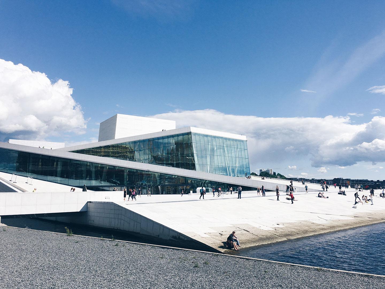 Snøhetta Design's Oslo Opera House