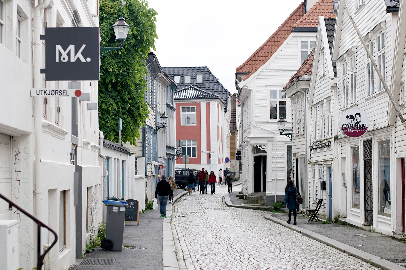 Bergen has some of the most quaint streets to walk and shop!