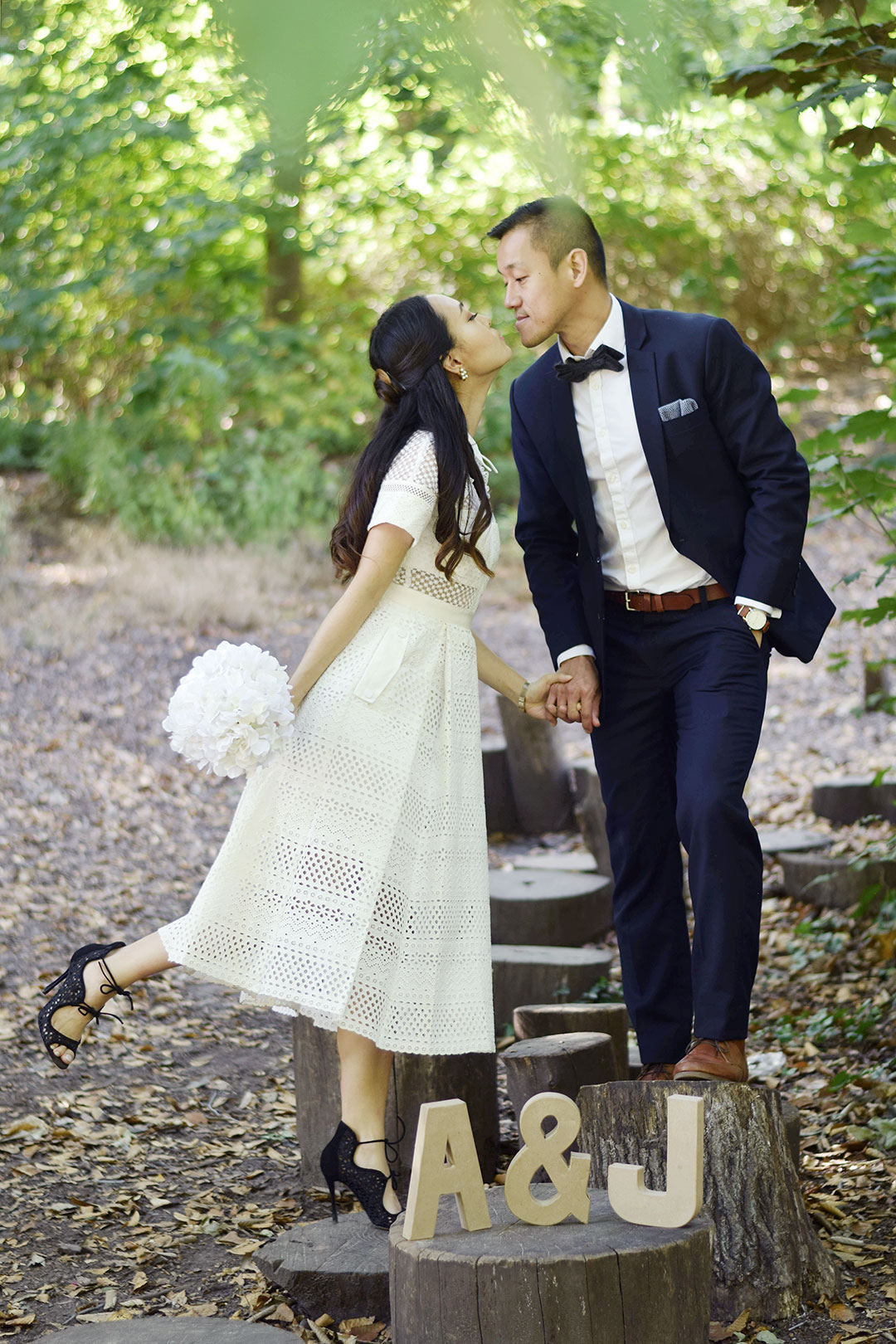 The Perfect Engagement Dress