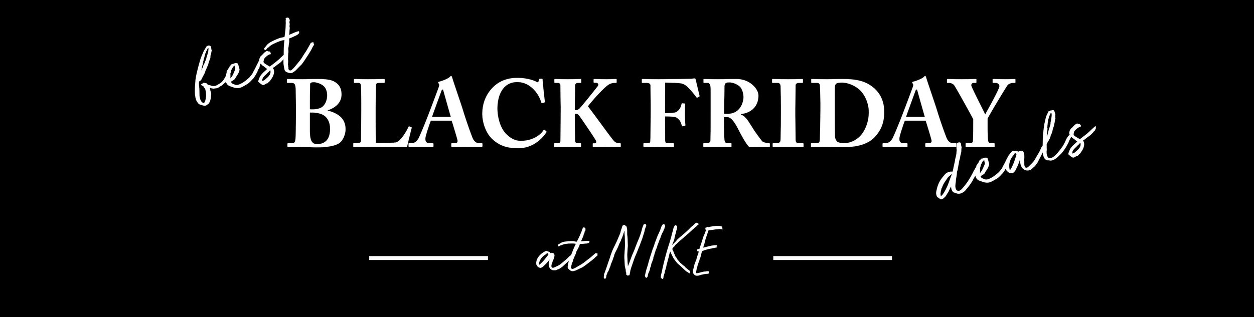 Best Black Friday Deals Nike