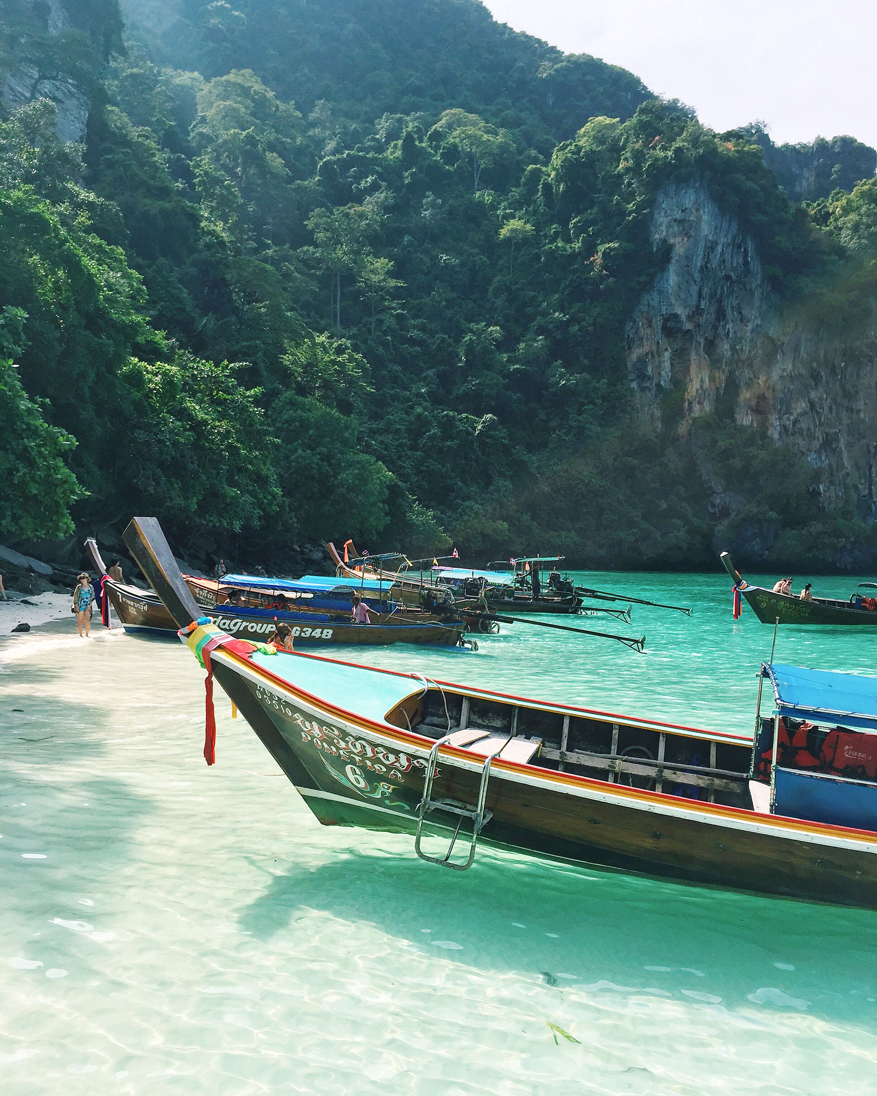 PHI PHI ISLANDS:  If you visit Phuket, you have to take a snorkeling day tour with  Offspray Leisure . Scroll down to the section below on the Phi Phi Islands for more information!