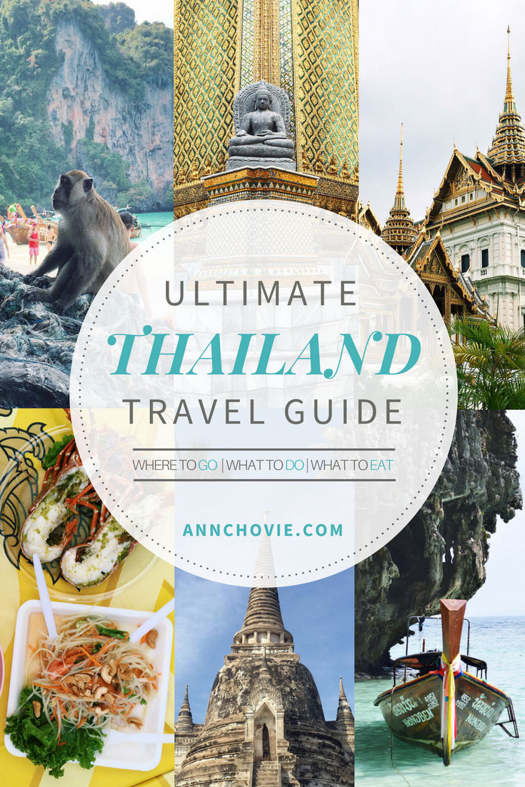 I've broken down my trip to the different locations I've gone too, including where I stayed, must-do activities, and places to eat. Hope this Thailand travel guide will inspire you to take a trip to Thailand. I already can't wait for my next trip there, as I have so much left to see!   THAILAND TRAVEL TIPS   THAILAND TRAVEL DESTINATIONS   THAILAND TRAVEL ITINERARY   WHAT TO DO IN THAILAND   WHERE TO EAT IN THAILAND   PLACES TO VISIT IN THAILAND