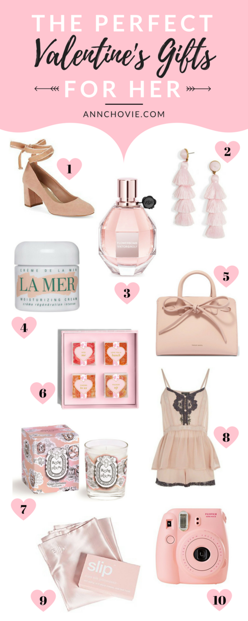 The Perfect Valentine S Gifts For Her Annchovie