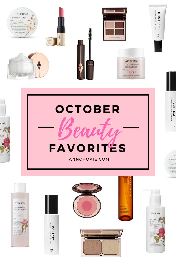 For my October Beauty Favorites, read all about my favorite picks including amazing luxury makeup from Charlotte Tilbury, Korean skincare, my new favorite matte lipstick, amazing cleansing oils, and more! Check out my reviews and shop the items as well! | #BEAUTYPRODUCTS | #SKINCAREPRODUCTS | #SKINCAREROUTINE | SKINCARE FAVORITES | SKINCARE TIPS | BEST #MAKEUPPRODUCTS | #KOREANBEAUTY | #CHARLOTTETILBURY |