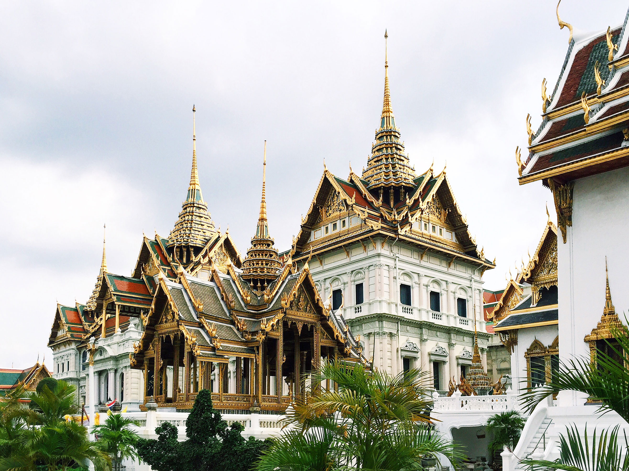 The Grand Palace is a stunning masterpiece! Those rooftops are just gorgeous!