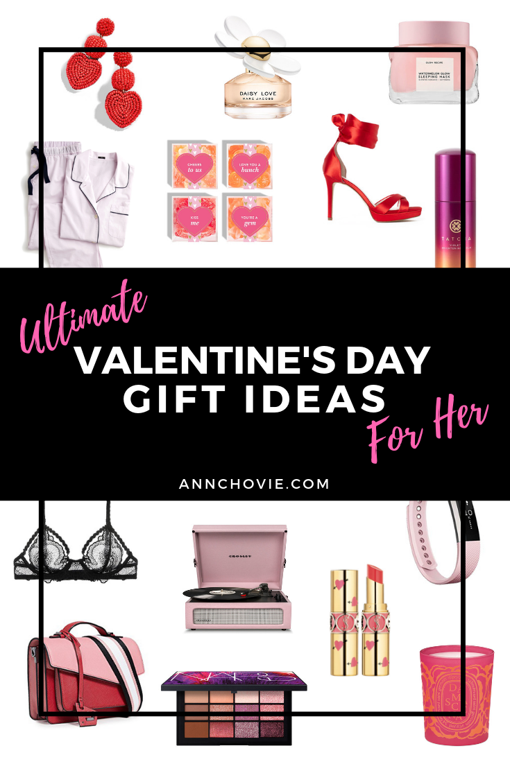 Valentine's Day is coming up really soon! I've put together the ultimate Valentine's Day gift guide so you can help all your favorite ladies feel extra special. There's something for everyone, including beauty, skincare, clothing, accessories, home and lifestyle gifts! Let's show all the wonderful women in our lives loads of love this Valentine's Day!  #giftguide   #giftideas   #giftsforher   #ValentinesDay  #ValentinesDayGifts