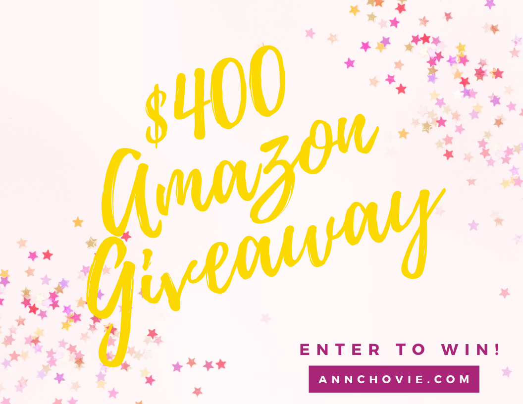 $400 Amazon Gift Card Giveaway!