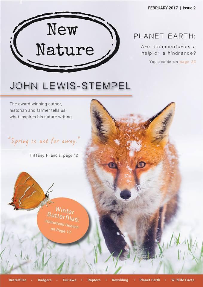 New Nature Magazine February 2017 Cover