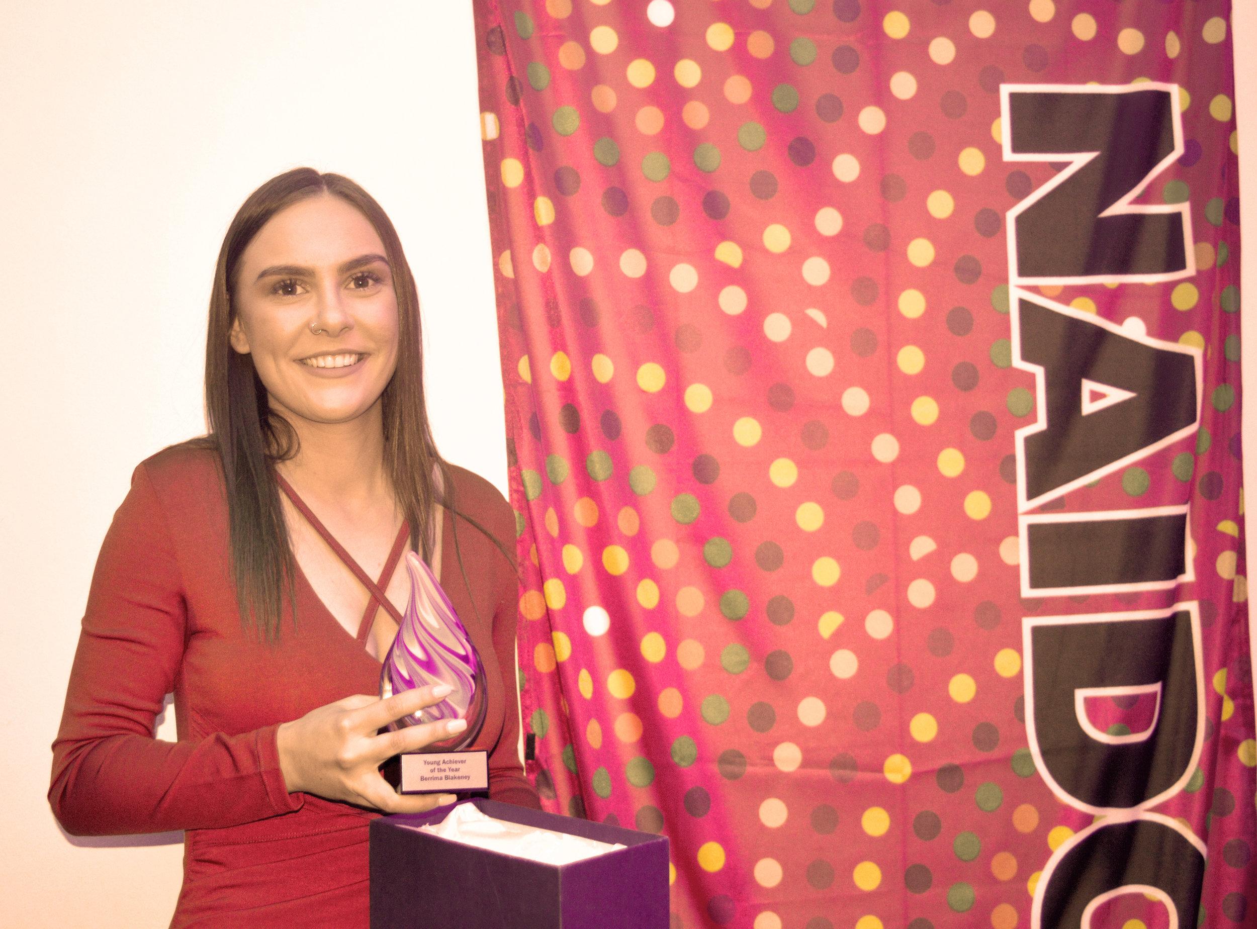 Berrima Blakeney  - Young Achiever of the Year 2017NAIDOC 2017 Regional Awards