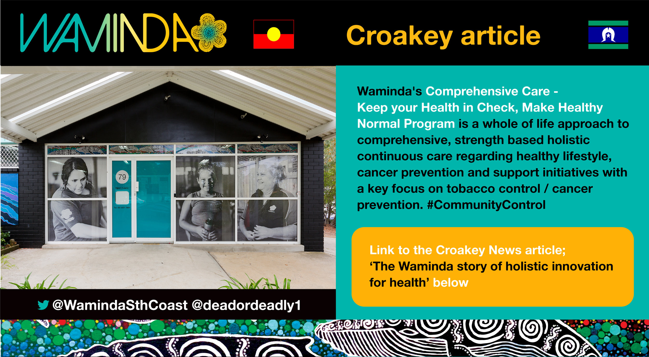 CLICK THIS LINK TO READ THE    CROAKEY NEWS ARTICLE