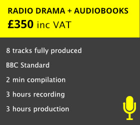 Perfect for the actor wanting a demo to showcase acting and narration skills   READ MORE