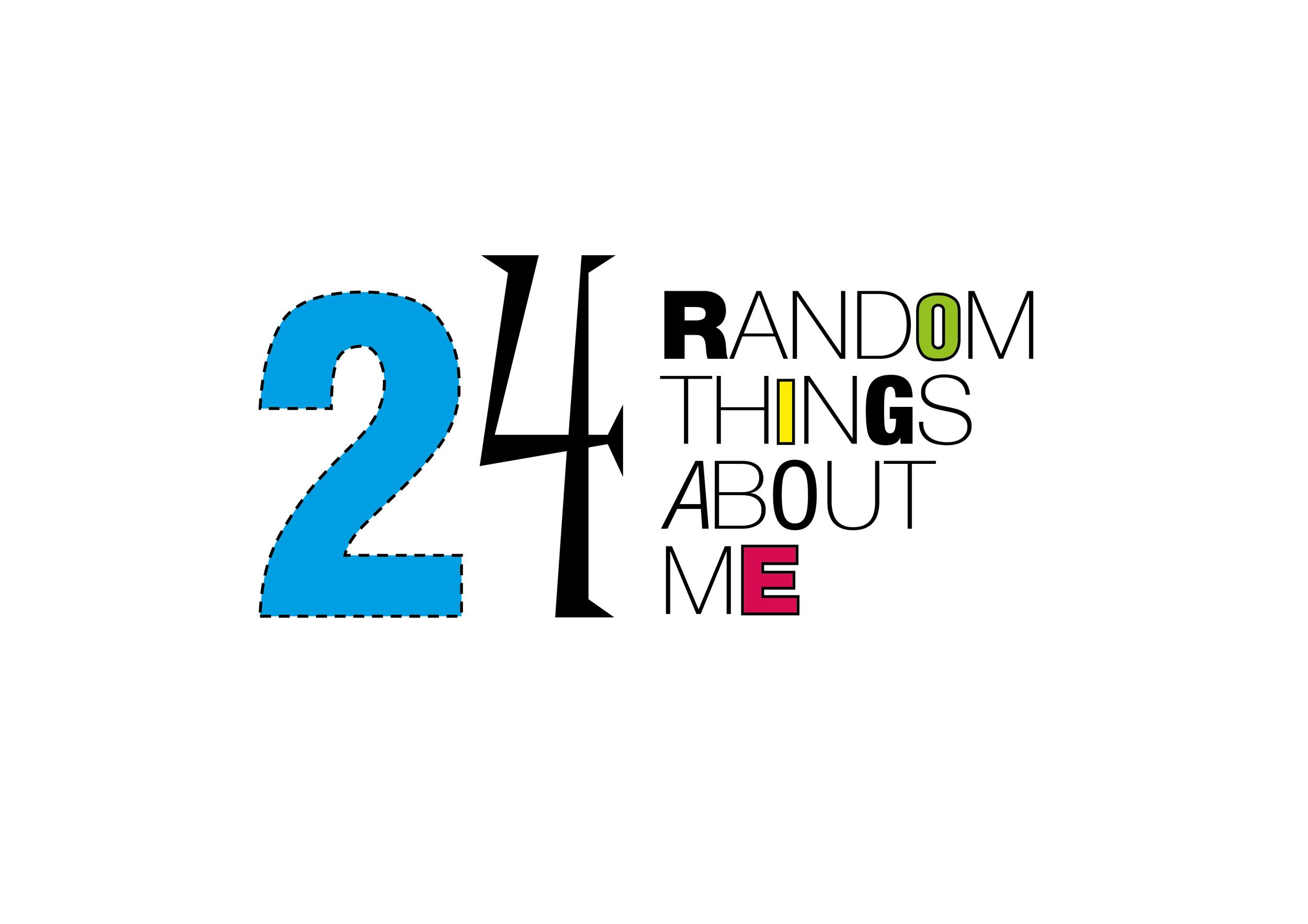 24 random things