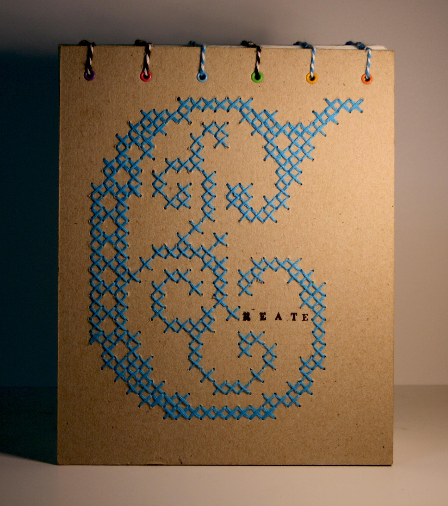 Bookbinding - Cross stitch - Create - Cover.jpg