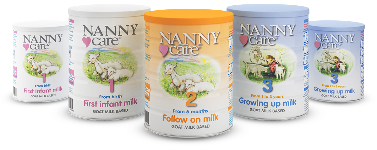 The NEW full range of NANNYcare products