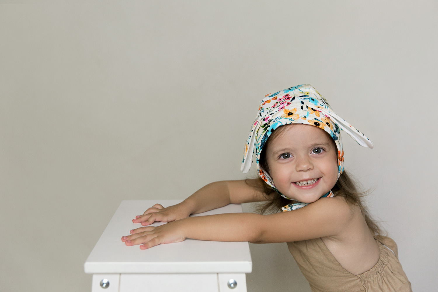 floral easter bunny bonnet product photo shoot commercial photography gold coast topknot girl