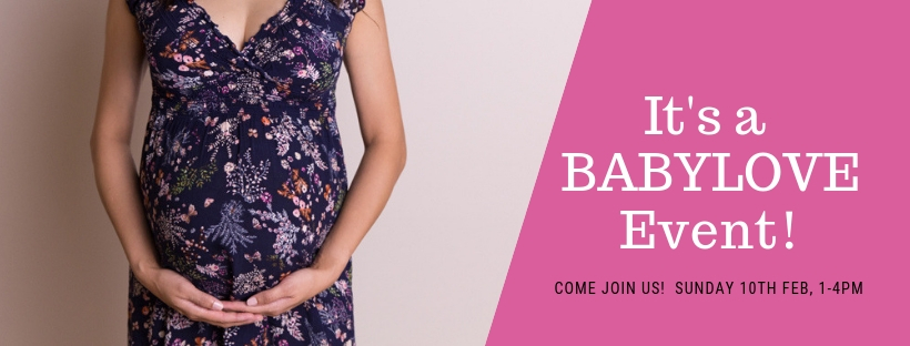 It's a BABYLOVE Event! valentines day gold coast pregnant baby expecting maternity photos pregnancy photography studio party