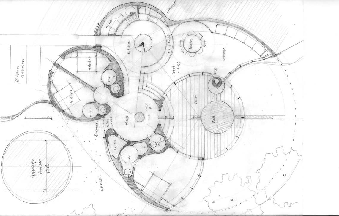 Roundhouse Concept Sketch
