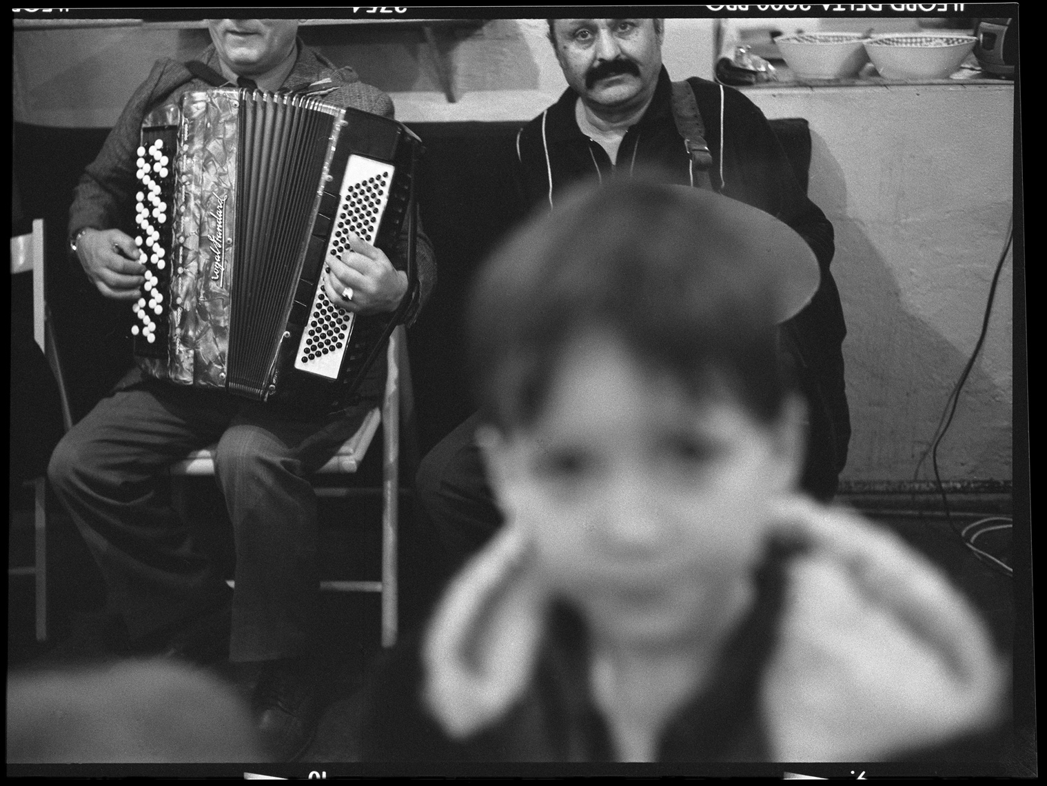 Musicians and Boy